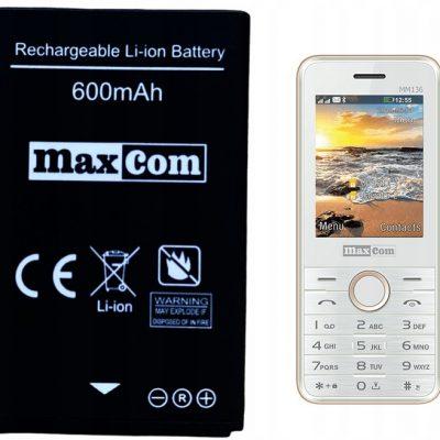 Maxcom Bateria do MM440 / MM461 / MM462 / MM710