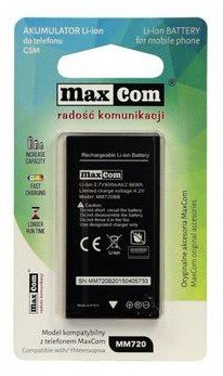 Maxcom bateria mm720 mm721 BAT MAX MM721