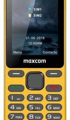 Maxcom MM139 Dual Sim Żółty