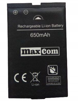 Maxcom Nowa Oryginalna Bateria MM901 650mAh
