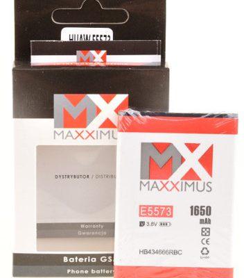 Maxximus Bateria Akumulator HB434666RBC 1650mAh do routera HUAWEI E5573 5577 E5776 E5575