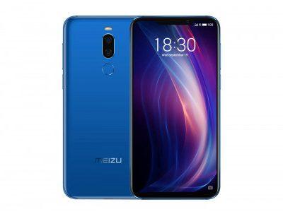 Meizu X8 64GB Dual Sim Niebieski