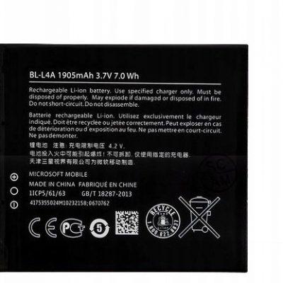 Microsoft Bateria BL-L4A Lumia 535 540 1905MAH
