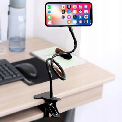 Mobilari GIĘTKI UCHWYT NA TELEFON ELASTYCZNY STATYW DŁUGI M111037 M111037BK