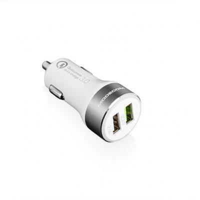 ModeCom Ładowarka MC-QCU2-07 Ładowarka Samochodowa Quick Charge 3.0 + USB (ZT-MC-QCU2-07)