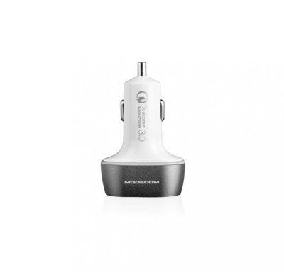 Modecom Ładowarka samochodowa MC-CU3 Quick Charge 3.0 + 2x USB) (ZT-MC-CU3-05)