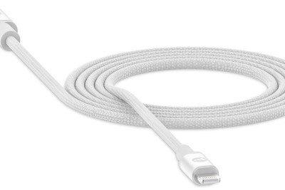 Mophie Kabel Charging Cable USB-C do Lightning, biały 848467093582
