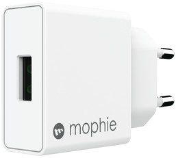 Mophie Ładowarka sieciowa USB-A 18W biała IWAMA18WW