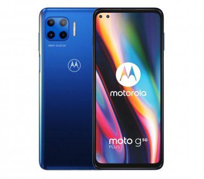 Motorola Moto G 5G Plus 128GB Dual Sim Niebieski