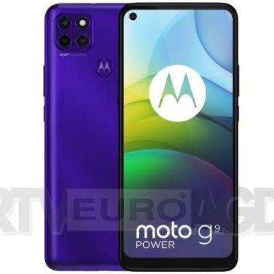 Motorola Moto G9 Power 128GB Dual Sim Fioletowy