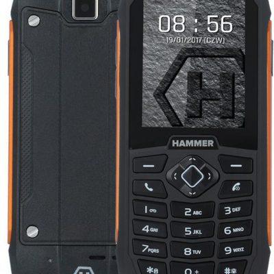 myPhone Hammer 3 Dual Sim Czarno-pomarańczowy