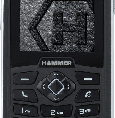 myPhone Hammer 3 Dual Sim Czarno-srebrny