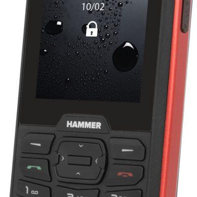 myPhone Hammer 4 64MB Dual Sim Czarno-czerwony