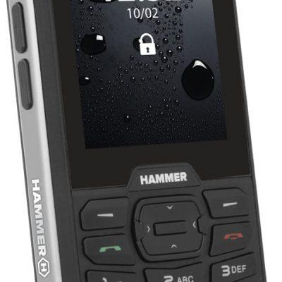 myPhone Hammer 4 64MB Dual Sim Czarno-srebrny
