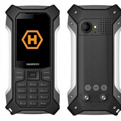 myPhone Hammer Patriot Czarno-srebrny
