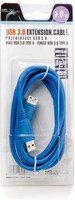 Natec męskie - żeńskie kabel, Kabel USB 3.0,1.8 m, niebieski, blister NKA-0469