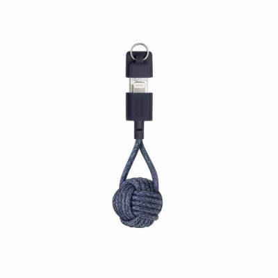 Native Union DESIGN POOL LIMITED Key Cable brelok z kablem Lightning indigo) IKLNUKCIY