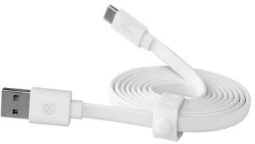 Nillkin Uniwersalny kabel USB Type-C Biały 120cm 6902048112001