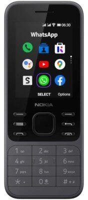 Nokia 6300 4G Dual Sim Szary