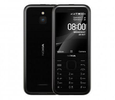 Nokia 8000 Dual Sim Czarny