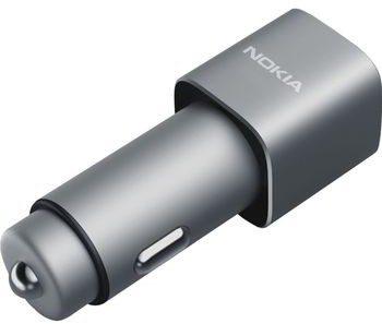 Nokia Ładowarka samochodowa DC-801 2x USB QC3.0 2.4A DC801) MO-NO-L202