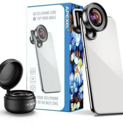 Obiektyw Soczewka Wide Na Telefon Smartfon Apexel