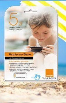 Orange Bezpieczny Starter dla Twojego dziecka 5 zł