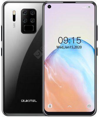 Oukitel C18 Pro 64GB Dual Sim Czarny