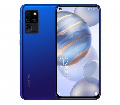 Oukitel C21 64GB Dual Sim Niebieski