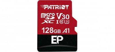 Patriot EP Series 128GB microSDXC V30 PEF128GEP31MCX