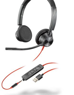 Plantronics Blackwire 3325, BW3325 USB-A 213938-01