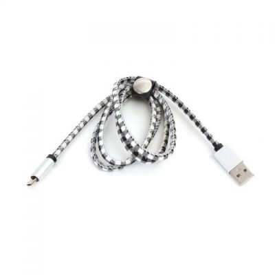 Platinet MICRO USB TO USB 1M WHITE