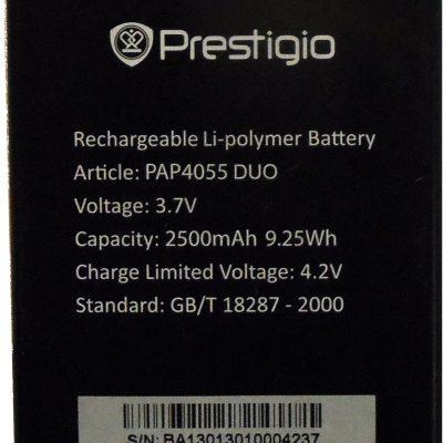 Prestigio Bateria PAP4055 Duo Multiphone 4055