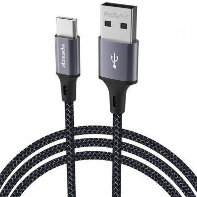 Proda Proda Azeada kabel przewód do szybkiego ładowania USB - USB Typ C 3 A Power Delivery 1m szary (PD-B52a) PD-B52a