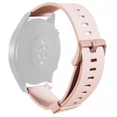 PURO ICON Multibrand Wristband Uniwersalny pasek smartwatch 22 mm (S/M & M/L) (piaskowy róż)