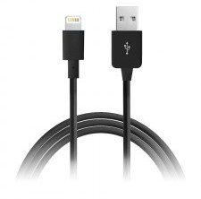 PURO Kabel połączeniowy USB Apple złącze Lightning MFi 1m (czarny) 10_3703