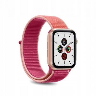 PURO Pasek do Apple Watch 38 / 40 mm (Koralowy)