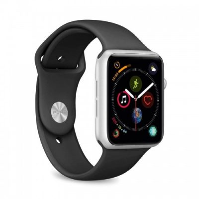 PURO Pasek Icon Apple Watch 44/42mm 2-size, czarne 8033830279379