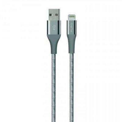 PURO USB-Lightning MFI 1.2M Fabric K2 Gwiezdna szarość