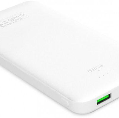 PURO White Fast Charger 10000 mAh 2 x USB-A + 1 x USB-C biały PWFCBB100P2WHI