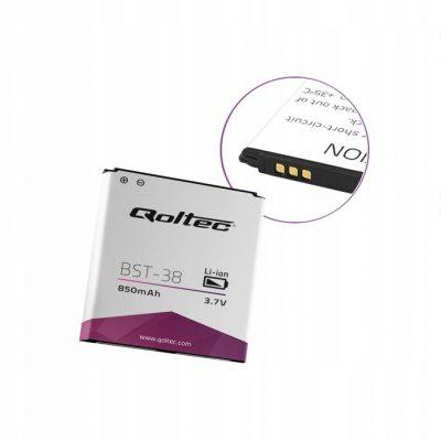 Qoltec Bateria do Sony Ericsson BST-38 850mAh