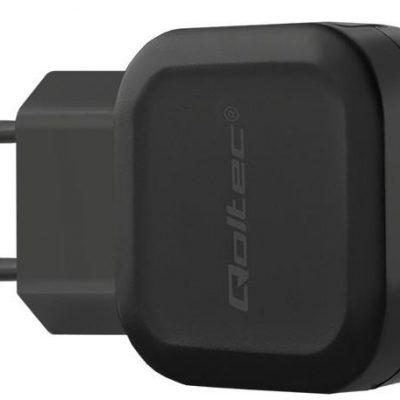 Qoltec Ładowarka sieciowa 12W | 5V | 2.4A | USB 50180