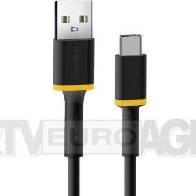 Reinston Reinston EKT32 USB-C 2m czarny EKT32