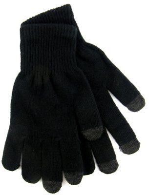 Rękawiczki do ekranów dotykowych XZERO Czarny