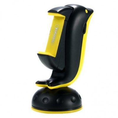 Remax Dolphin Car Holder RM-C20 uchwyt samochodowy na deskę rozdzielczą szybę czarny 6954851263593