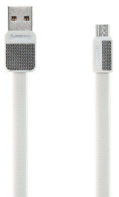 Remax RC-044m Platinum kabel micro USB 1m biały 6954851271734