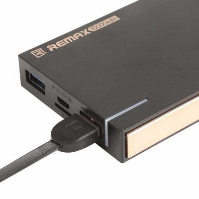 Remax Repower Power Bank 10000 mAh + Slot na kart micro SD 2653