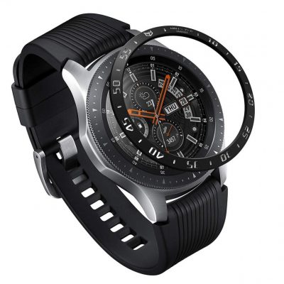 Ringke Nakładka na tachymetr do Galaxy Gear S3/Galaxy Watch 46 mm Ringke Bazel Ring - Czarny RGK847SBLK