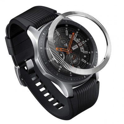 Ringke Nakładka na tachymetr do Galaxy Gear S3/Galaxy Watch 46 mm Ringke Bazel Ring - prążkowane RGK895SSLV