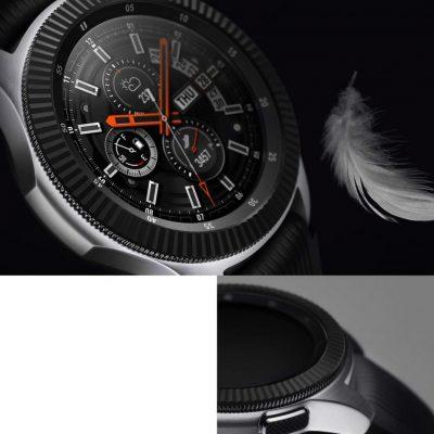 Ringke Nakładka na tachymetr do Galaxy Gear S3/Galaxy Watch 46 mm Ringke Bazel Ring - Steel Black RGK844SBLK